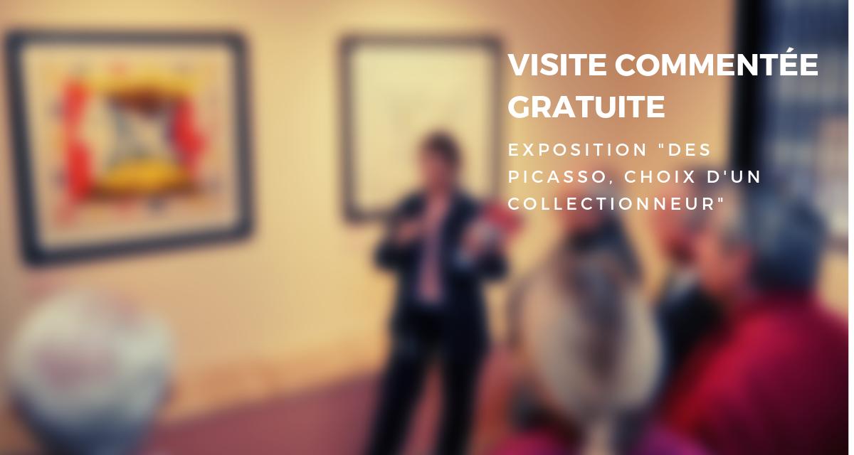 Visite commentée gratuite de l'exposition « Des Picasso, choix d'un collectionneur »