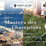 Masters des champions au Golf Saint-Tropez Gassin