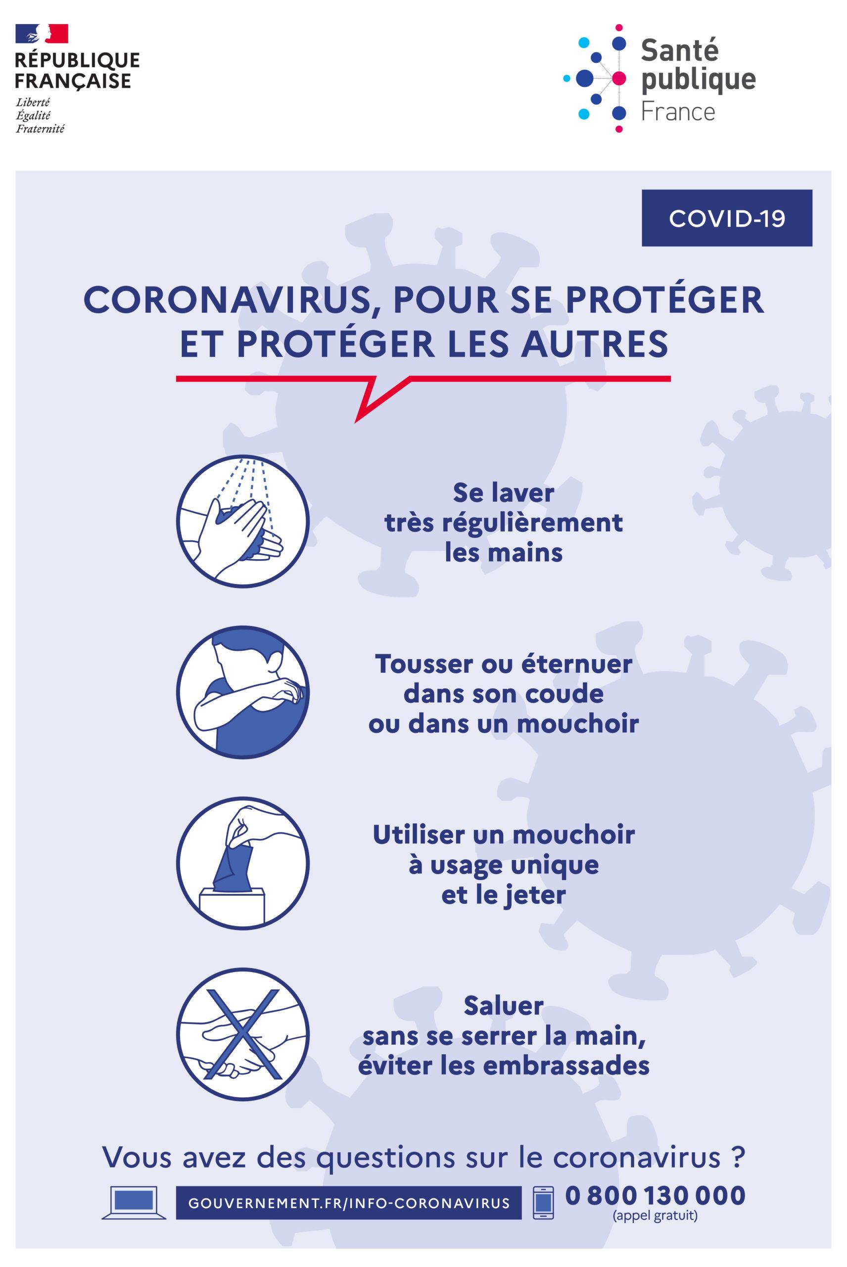 Coronavirus: nouvelles dispositions + 5 conseils naturopathiques pour la défense immunitaire du fer.