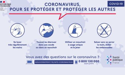 Coronavirus, les gestes pour se protéger et protéger les autres