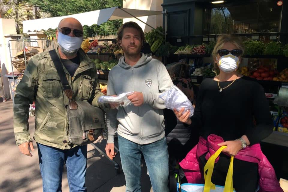 La Ville distribue des masques aux commerçants
