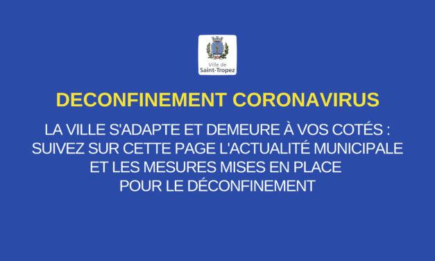 Déconfinement phase 2 à partir du 2 juin : ce qui change à Saint-Tropez