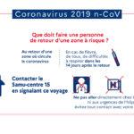 Mise à jour 26/02 : Coronavirus, la Ville rappelle aux parents d'élèves la conduite à tenir