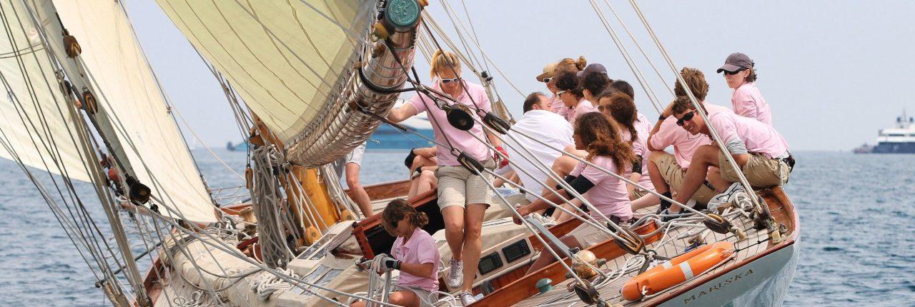 Régate : les Dames de Saint-Tropez 2019
