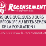 Le recensement de la population prolongé jusqu'au 19 février !